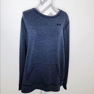 Under Armour Long Sleeve Soft Blue Sweatshirt